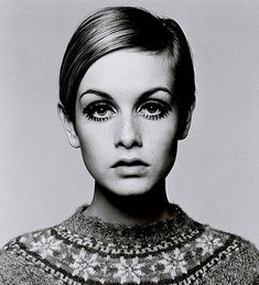 Twiggy~because of the media obsession with woman, women have been starving themselves to look like her ever since.