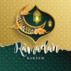 Ramadan kareem or eid mubarak greeting ... | Premium Vector #Freepik #vector #background #islamic #ramadan #moon Islamic Art Pattern, Arabic Pattern, Gold Pattern, Ramadan Greetings, Eid Mubarak Greetings, New Year Banner, Holiday Banner, Ramzan Wishes, Islamic Art Calligraphy