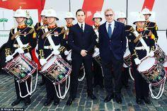 One of the coolest photos ever. Stood posing with tom hardy and harrison ford! #tomhardy #harrisonford #starwars #royalmarines #royalmarinesband #celebrity #legend #bane http://tipsrazzi.com/ipost/1518119136948006248/?code=BURcU_Mgi1o