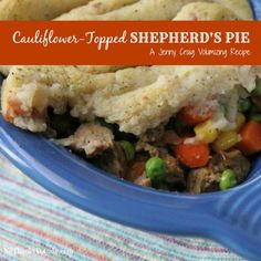 Jenny Craig Volumizing: Cauliflower-Topped Shepherd's Pie | No Thanks to Cake