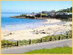 Coverack Beach and harbour
