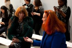 Anna Wintour & Grace Coddington @ Thakoon