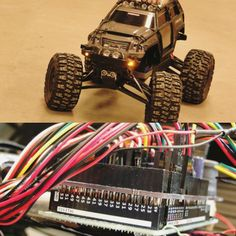 Something we loved from Instagram! The heart of the beast: an Arduino Mega  #arduino #arduinomega #pcb #shield #wiring #cables #DIY #arduinouno #programming #code #raspberrypi #traxxas #traxxassummit #hacked #rc #rctruck by thattmaxxguy Check us out http://bit.ly/1KyLetq