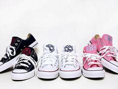 Monogrammed Converse Sneakers