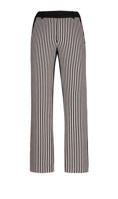 SPIRITED black and white striped pant  | Per Se White Label | Holiday 2013