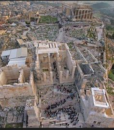 Attica Athens, Acropolis, Ancient Civilizations, Aerial Photography, Ancient Greece, Byzantine, Aerial View, Paris Skyline, City Photo