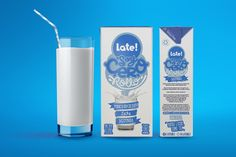 Late Milk — The Dieline
