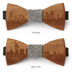 These two young male entrepreneurs were featured on ABC's Shark Tank. I thought their ideas were so clever and really works of art... customized wooden bow ties and flowers. I especially love their city skyline designs!