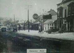 Dewey Avenue in a previous life.