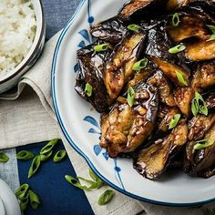 Chinese Eggplant with Garlic Sauce // Omnivores Cookbook. Find this #recipe and more on our Chinese Food Feed at https://feedfeed.info/chinese-food?img=1090780 #feedfeed