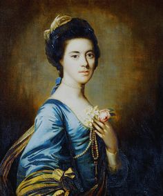 Mrs. Margaret Desenfans - Sir Joshua Reynolds.