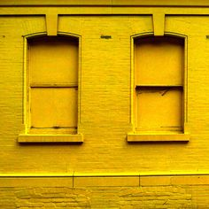 Yellow Facade by jakerome on Flickr