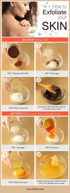 How to Exfoliate your Skin (Remove Dead Skin Cells) to Get Radiant and Healthy S. - How to Exfoliate your Skin (Remove Dead Skin Cells) to Get Radiant and Healthy Skin - Beauty Care, Diy Beauty, Beauty Skin, Homemade Beauty, Beauty Makeup, Beauty Box, Beauty Ideas, Face Beauty, Beauty Solutions