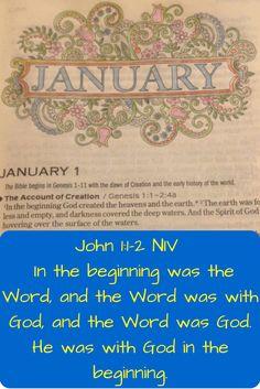 The Beginning-Journaling Through The Bible