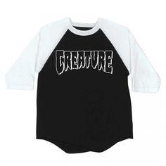 Creature Skateboards Creature Rev Logo Raglan 3/4 Sleeve T-Shirt