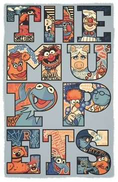 >>> The Muppets -love this