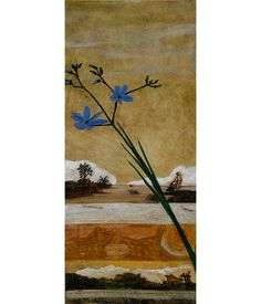 Figurative Australian Painting - Karen Seaman - Blind Weed