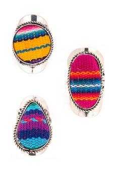 Fair Trade Cloth Rings Greenola Style