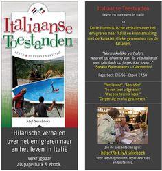 Hilarische verhalen over onze emigratie en ons leven in Italie http://italiaanse-toestanden.duepadroni.it