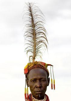 Africa |  Karo tribe woman Ethiopia.  Image credit Eric Lafforgue