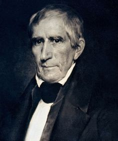 William Henry Harrison, 9th President ~ 1841.  His grandson, Benjamin Harrison was our 23rd President.