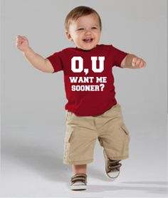 O U Want Me Sooner  Child's Tee or Onesie by DivinusTs on Etsy