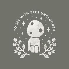"1,198 mentions J'aime, 52 commentaires - Liam Ashurst (@liamashurst) sur Instagram: ""Little Princess Mononoke tree spirit just for fun  #graphicdesign #design #illustration #art…"""