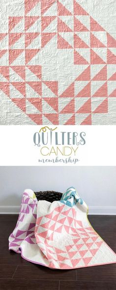 beginner quilter, small sewing project, modern geometric quilt pattern, quilting membership, quilt pattern membership, get this pattern for free when you complete projects from the membership