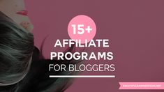 Are you looking to make money with your blog by doing affiliate marketing? Here's a list of 6 affiliate programs for bloggers.