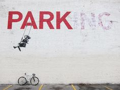 Change cars for fun. Banksy, of course.