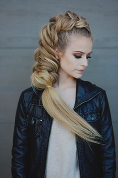 Hair done by Heather Chapman for Sam Villa Blog
