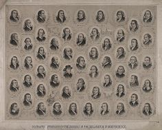 56 Signers of the Declaration of Independence  File:Portraits & autographs of the signers of the Declaration of Independence (USA).jpg