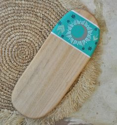 This beautiful serving board is lovingly handcrafted by Millie from reclaimed Camphor timber.It is handpainted and sealed to protect the painted surface.Whether you use it to serve cheese,dips,antipastos, fruit,breakfast or even dinner, this beautiful Camphor timber board will present your favorite foods with a unique style and organic simplicity.| The original| Entirely handcrafted + handpainted by Millie Fairhall| One of a kind | Strong.Durable.Versatile| B...