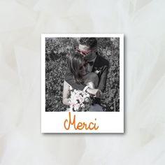 carton de remerciement couleurs du sud papeterie mariage - Texte Remerciement Mariage Personne Absente