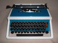 Tragbare mechanische Reiseschreibmaschine Underwood 315