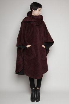 Lindsey Thornburg Full Length Cloak (Red Herringbone)