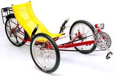 Greenspeed Recumbent Trikes - GTO Touring Trike