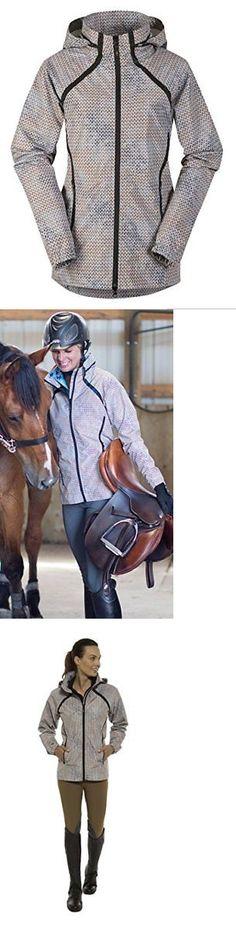 Jackets 47268: Kerrits Half Halt Rain Jacket Graphite Carrot Field Size Extra Large Jackets -> BUY IT NOW ONLY: $121.99 on eBay!
