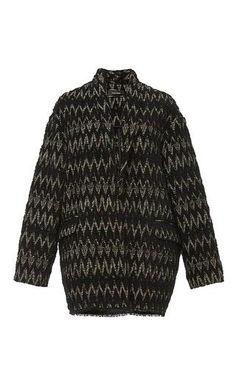 Virgin wool blend oversized saturday coat by ISABEL MARANT Now Available on Moda Operandi
