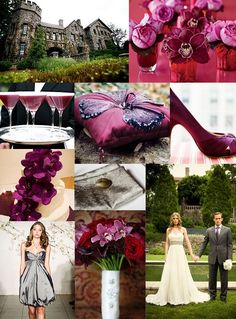 Romance in the evening | Inspiration Board | Green Wedding Shoes Wedding Blog | Wedding Trends for Stylish + Creative Brides