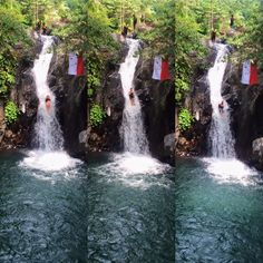 Bali Location, Bali Waterfalls, Waterfall Photo, Signs, Outdoor, Outdoors, Shop Signs, Outdoor Games, The Great Outdoors