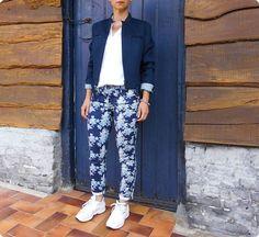 Le pantalon à fleurs - Tartangirl's Wardrobe