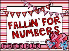 {FREEBIE} 3 Valentine's Day Math Centers