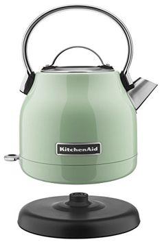 KitchenAid KEK1222PT Electric Kettle, 1.25 L, Pistachio