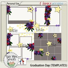 Graduation Day TEMPLATES %35 off; http://store.gingerscraps.net/Graduation-Day-TEMPLATES.html. 26/04/2013