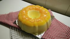 Fluffy Orange Pudding