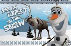 Zak Designs Disney Frozen Kids Placemat Set of 1 Anna /& Elsa