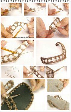 Como hacer Hawaianas con trozos de Plastico y Crochet - enrHedando