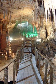 La Grotta del Fico in Sardegna nella Costa di Baunei Santa Maria ...