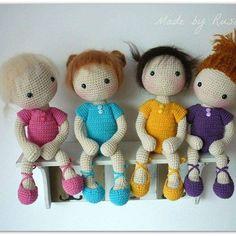 #crochet #crocherdoll #amigurumi  #amigurumidoll #ballerinacrochet  #madebyrusi #rusidolls